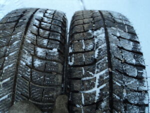 4 Michelin Winter Tires with Rims for Echo / Yaris / Corolla