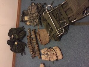 various military surplus gear