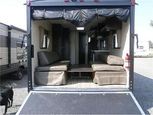2017 FOREST RIVER GREYWOLF LIMITED 22 RR TOY HAULER! $24495!!! London Ontario image 5