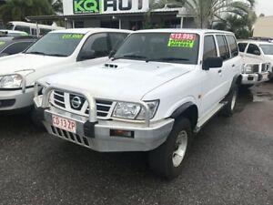 2003 Nissan Patrol GU III MY2003 DX White 4 Speed Automatic Wagon Winnellie Darwin City Preview