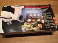 KitchenAid MVSA Cone Slicer/Shredder for KitchenAid Mixer, new, boxed
