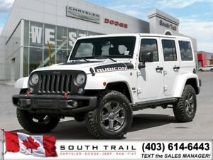 '18 Jeep Wrangler Unlimited RUBICON, Heated Lthr Sts, $324B/W