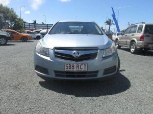 2010 Holden Cruze JG CD Ice Blue 6 Speed Sports Automatic Sedan