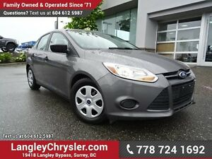 2014 Ford Focus S ACCIDENT FREE!