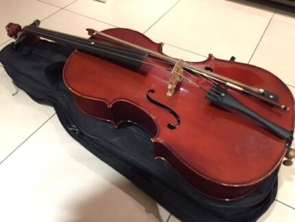 Half size Cello - new string South Brisbane Brisbane South West Preview