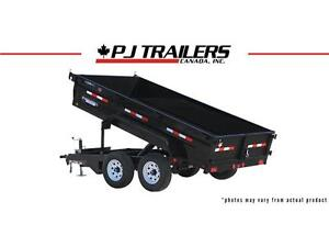 "10' x 72"" Tandem Axle Dump Trailer (D3) London Ontario image 1"
