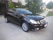 2010 Mercedes-Benz E220 CDI Elegance Black 7 Speed Automatic Sedan Kedron Brisbane North East Preview