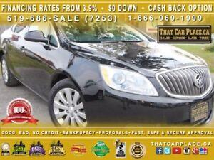 2016 Buick VERANO $55/Wk|Leather|Bluetooth|Steering Wheel Contro