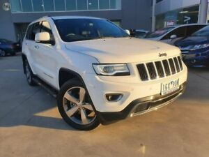 2016 Jeep Grand Cherokee WK MY15 Limited White 8 Speed Sports Automatic Wagon Ravenhall Melton Area Preview