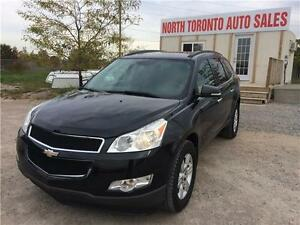 2010 CHEVROLET TRAVERSE 1LT - 7 PASSANGER - LOW KM