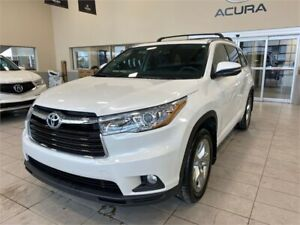 2015 Toyota Highlander Limited - Heated Leather, Pano Roof, Nav