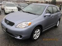 2007 Toyota Matrix XR Accident free only 92760kms