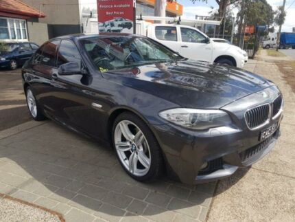 2011 BMW 520d F10 MY11 Grey 8 Speed Automatic Sedan Revesby Bankstown Area Preview