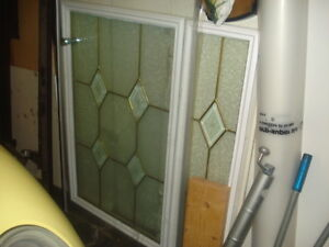 Door Window Lite and Side Lite Matching Pair