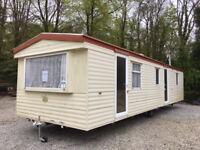 Static caravan 35 x 10 ft / 3 bedrooms, in good condition, low price!