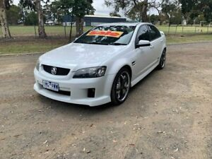 2008 Holden Commodore VE MY09 SS White 6 Speed Manual Sedan Dandenong Greater Dandenong Preview