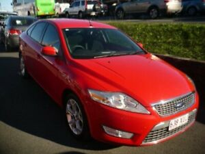 2009 Ford Mondeo Red 6 Speed Automatic Hatchback Caboolture Caboolture Area Preview
