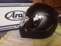 Brand New Arai Axces 2 Helemt - Medium - Black frost