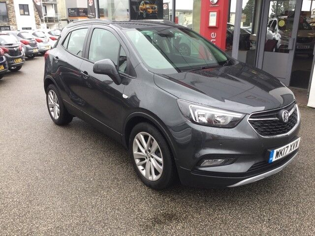 Vauxhall Mokka X 1 4 Turbo Active Quantum Grey 2017 In
