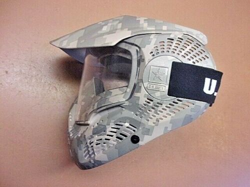 Officially Licensed US Army Ranger Airsoft Paintball Face Mask Helmet Digi Camo