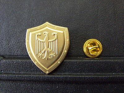 PIN Bundeswappen Deutschland Gold Abzeichen - 3 x 2,5 cm