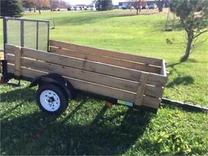 Brand New Force 4x8 Landscape/Utility Trailer