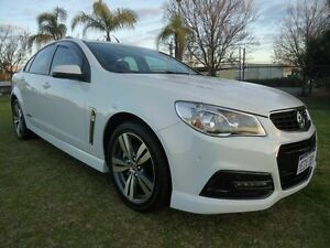 2013 Holden Commodore VF MY14 SS White 6 Speed Manual Sedan Embleton Bayswater Area Preview