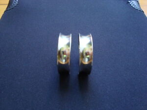 WOMANS STERLING SILVER EARRINGS .925 West Island Greater Montréal image 5