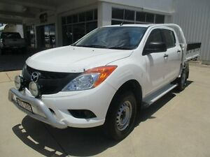 2013 Mazda BT-50 White Manual Ayr Burdekin Area Preview