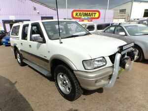 2002 Holden Rodeo TFR9 MY02 LX (4x4) White 4 Speed Automatic Crewcab North St Marys Penrith Area Preview