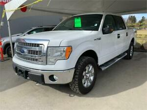 2014 FORD F-150 XLT 5.5 BOX 5.0 LTR RELIABILITY MAX TRAILER TOW