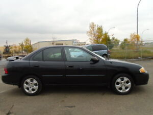 2003 Nissan Sentra XE SPORT Sedan--5 SPPED.....NEW TIRES