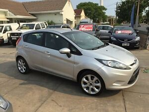 2009 Ford Fiesta WS CL Silver 4 Speed Automatic Hatchback Park Holme Marion Area Preview