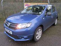 Dacia Sandero 1.2 Ambiance 5DR 16V (sargasso blue) 2013
