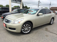 2007 Infinity G35x AWD / LOADED, NAV, SUNROOF/ FOR ONLY $9 995!