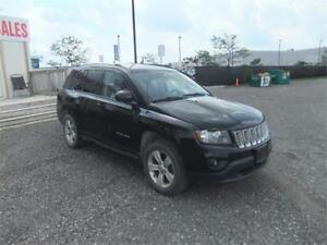 2014 Jeep Compass North 4x4 LEATHER SEATS CERTIFIED!!