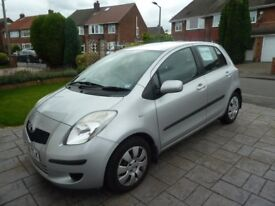 Yaris T3 Silver good condition Mot march 2018 FSH 2 lady owners from new very low milage