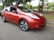 2014 Nissan Leaf ZE0 2014 Premium Edition Solar Premium Edition Burgundy Automatic Hatchback Concord Canada Bay Area Preview