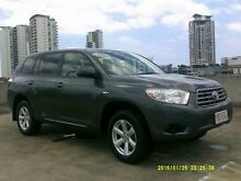 2008 Toyota Kluger GSU40R KX-R 2WD Grey 5 Speed Sports Automatic Wagon Southport Gold Coast City Preview