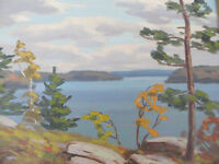 George Thomson Oil Painting of Muskoka Tom Thomson