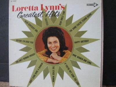 Loretta Lynn   Greatest Hits    1972  Vinyl Lp    Decca Records Blue Kentucky Gi