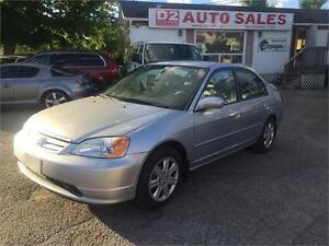 2003 Honda Civic AS IS/Automatic/Gas Saver