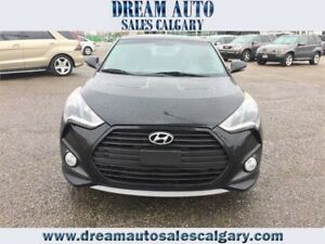 ***NAVI***BACK UP CAM***2014 Hyundai Veloster Turbo w/Matte Grey
