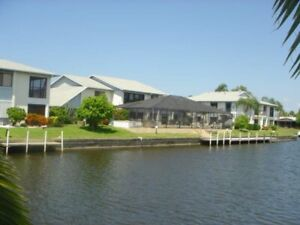 Canal Front with Gulf Access 3 bedroom Townhouse