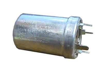 Sprague 68d10944 6000uf 15v 85c Can Neg 50-01 8452l Capacitor