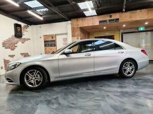 2013 Mercedes-Benz S-Class W222 Silver Sports Automatic Sedan LWB Perth Perth City Area Preview