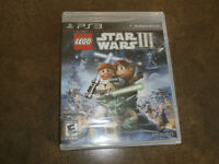 STILL AVAILABLE Sealed Copy of Lego Star Wars III for PS3