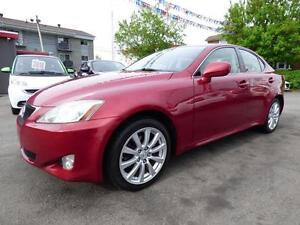 2008 LEXUS IS 250 AWD (AUTOMATIQUE, TOIT, CUIR, MAGS, FULL!!!)