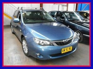 2008 Subaru Impreza R Blue Manual Hatchback Villawood Bankstown Area Preview