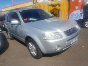 2005 Ford Territory SX Ghia (4x4) Silver 4 Speed Auto Seq Sportshift Wagon Campbelltown Campbelltown Area Preview